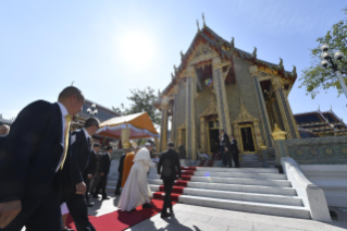 5-Apostolic Journey to Thailand: Visit to the Supreme Buddhist Patriarch