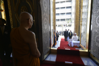 4-Apostolic Journey to Thailand: Visit to the Supreme Buddhist Patriarch