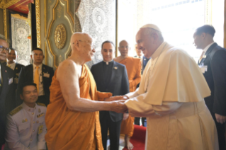 6-Apostolic Journey to Thailand: Visit to the Supreme Buddhist Patriarch