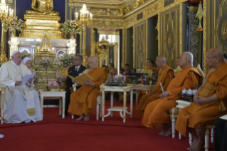 12-Apostolic Journey to Thailand: Visit to the Supreme Buddhist Patriarch