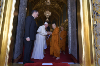 8-Apostolic Journey to Thailand: Visit to the Supreme Buddhist Patriarch
