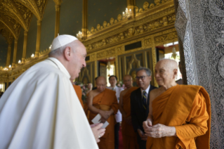 9-Apostolic Journey to Thailand: Visit to the Supreme Buddhist Patriarch