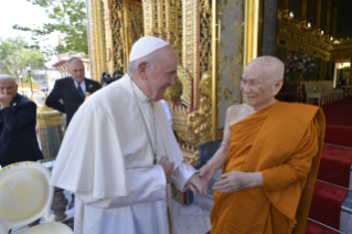 13-Apostolic Journey to Thailand: Visit to the Supreme Buddhist Patriarch