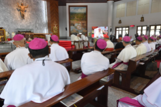 2-Apostolic Journey to Thailand: Meeting with the Bishops of Thailand and FABC