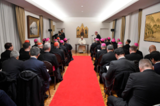 0-Apostolic Journey to Japan: Meeting with the Bishops