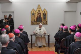 8-Apostolic Journey to Japan: Meeting with the Bishops