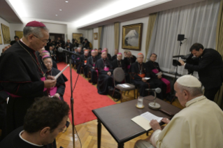 6-Apostolic Journey to Japan: Meeting with the Bishops