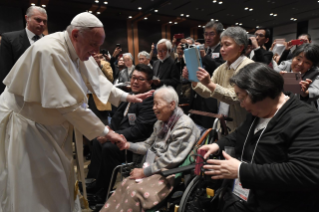 2-Apostolic Journey to Japan: Meeting with the victims of Triple Disaster