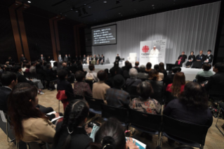 6-Apostolic Journey to Japan: Meeting with the victims of Triple Disaster