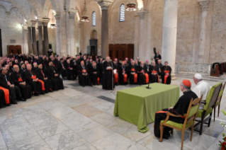 4-Visit to Bari: Meeting with bishops of the Mediterranean