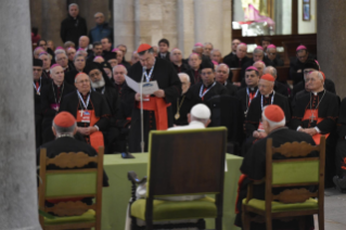 13-Visit to Bari: Meeting with bishops of the Mediterranean