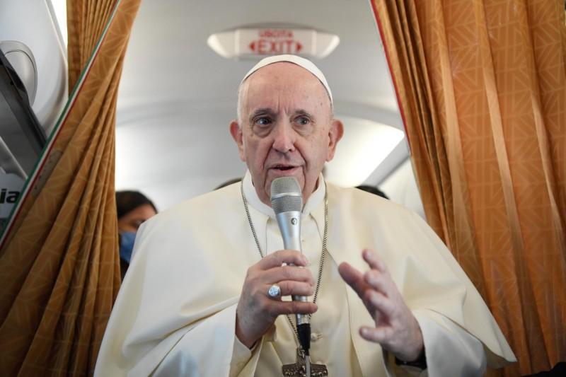 Francisco, en el vuelo