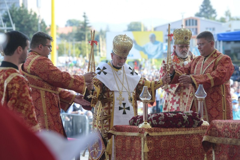 Liturgia bizantina en Eslovaquia