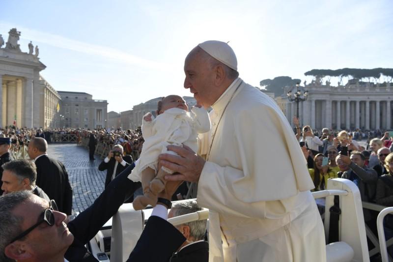 Papa y bebé