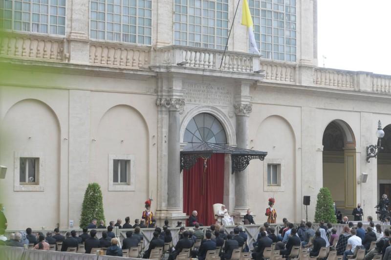 Papa, en San Dámaso