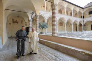 "1-Visit of the Holy Father Francis to Assisi: Holy Mass and signing of the new Encyclical <i>""All Brothers"", on fraternity and social friendship</i>"