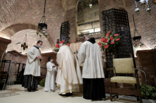 "11-Visit of the Holy Father Francis to Assisi: Holy Mass and signing of the new Encyclical <i>""All Brothers"", on fraternity and social friendship</i>"