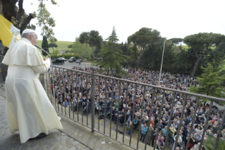0-Pilgrimage of the Holy Father to the Shrine of Our Lady of Divine Love for the beginning of the Marian Month