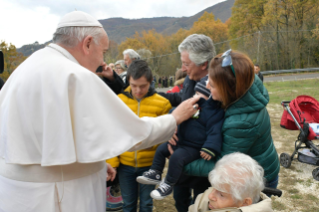 0-Visit of the Holy Father to the Franciscan Shrine of Greccio