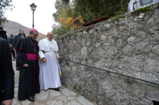 1-Visit of the Holy Father to the Franciscan Shrine of Greccio