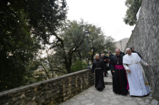3-Visit of the Holy Father to the Franciscan Shrine of Greccio