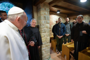 6-Visit of the Holy Father to the Franciscan Shrine of Greccio