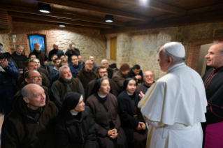 7-Visit of the Holy Father to the Franciscan Shrine of Greccio