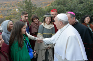 19-Visit of the Holy Father to the Franciscan Shrine of Greccio