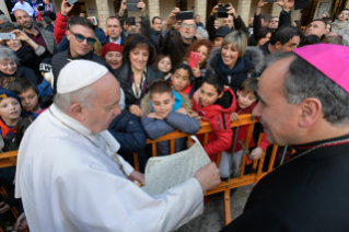 17-Visit of the Holy Father to the Franciscan Shrine of Greccio