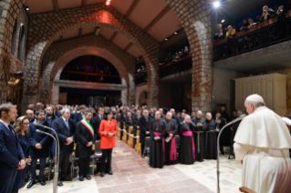 13-Visit of the Holy Father to the Franciscan Shrine of Greccio