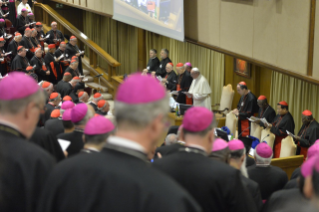 20-Opening of the XV Ordinary General Assembly of the Synod of Bishops: Introductory Prayer and Greeting of the Pope
