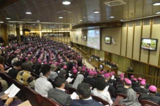 18-Opening of the XV Ordinary General Assembly of the Synod of Bishops: Introductory Prayer and Greeting of the Pope