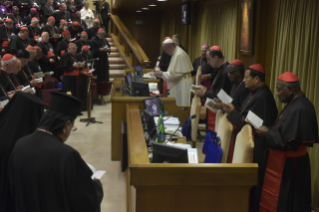 15-Opening of the XV Ordinary General Assembly of the Synod of Bishops: Introductory Prayer and Greeting of the Pope