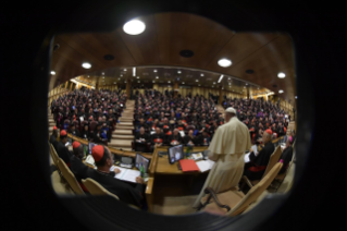 28-Opening of the XV Ordinary General Assembly of the Synod of Bishops: Introductory Prayer and Greeting of the Pope