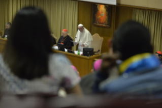 27-Opening of the XV Ordinary General Assembly of the Synod of Bishops: Introductory Prayer and Greeting of the Pope