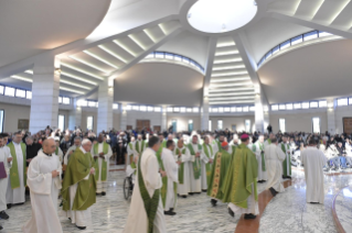 "1-Eucharistic celebration to open the meeting of reception structures, ""Liberi dalla paura"" (""Free from fear"")"