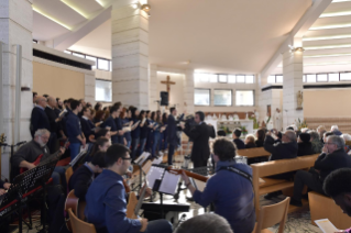 "5-Eucharistic celebration to open the meeting of reception structures, ""Liberi dalla paura"" (""Free from fear"")"