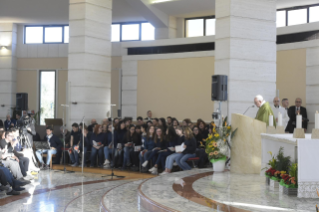 "11-Eucharistic celebration to open the meeting of reception structures, ""Liberi dalla paura"" (""Free from fear"")"