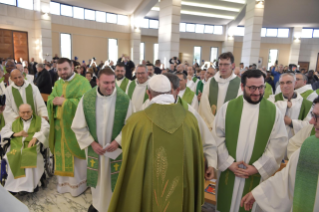 "25-Eucharistic celebration to open the meeting of reception structures, ""Liberi dalla paura"" (""Free from fear"")"
