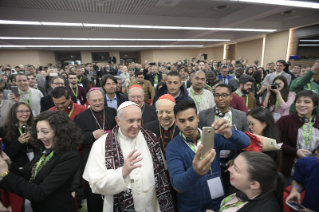 3-Pre-Synodal meeting with young people at the International Pontifical College