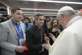 6-Pre-Synodal meeting with young people at the International Pontifical College