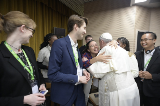 7-Pre-Synodal meeting with young people at the International Pontifical College