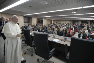 5-Pre-Synodal meeting with young people at the International Pontifical College