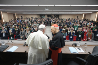 2-Pre-Synodal meeting with young people at the International Pontifical College