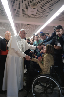 15-Pre-Synodal meeting with young people at the International Pontifical College