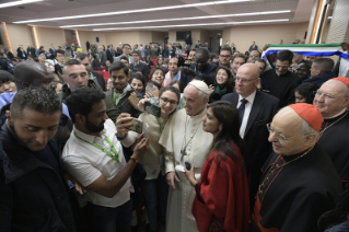 20-Pre-Synodal meeting with young people at the International Pontifical College