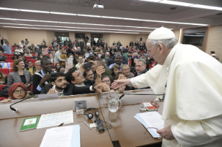 21-Pre-Synodal meeting with young people at the International Pontifical College
