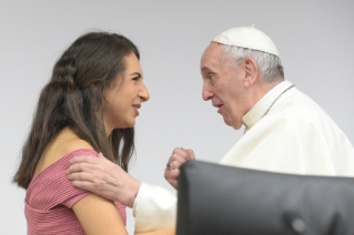 17-Pre-Synodal meeting with young people at the International Pontifical College