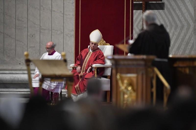 El predicador del Papa