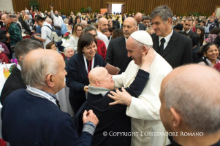 2-Address of the Holy Father on the occasion of the lunch with the poor